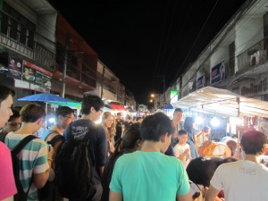 Sunday Night Market in Chiang Mai, Thailand