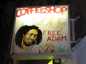 Appropriate name for a coffee shop in Amsterdam